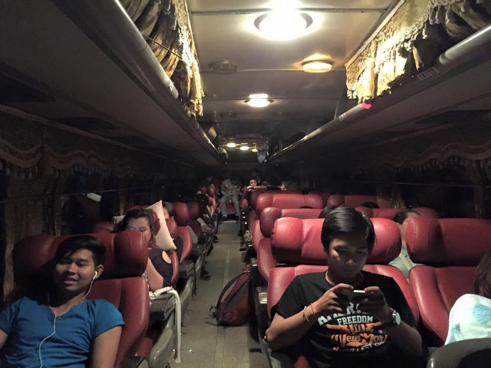 Vé xe khách từ Sihanoukville đến Siem Reap