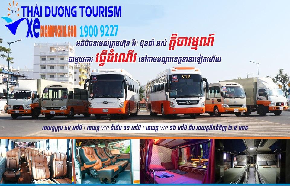 Xe đi Phnom Penh
