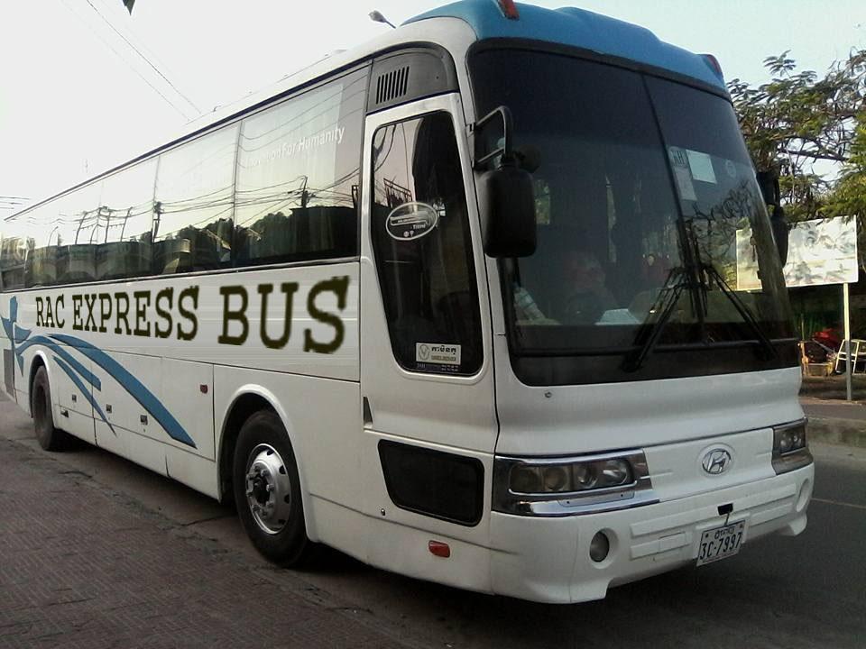 xe 45 chổ đi campuchia 1 - Khuyến mại vé xe đi Campuchia chỉ 180k