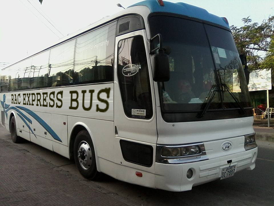 xe 45 chổ đi campuchia 3 1 - Vé xe khách từ Sihanoukville đến Siem Reap