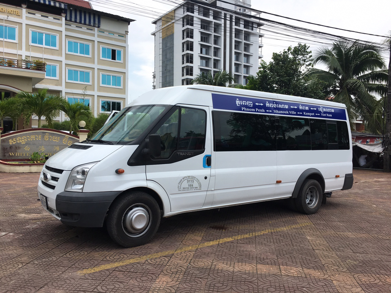 xe tdha tien di sihanoukville 1 1 1 - Thuê xe đi Sihanouk Ville từ Hà Tiên