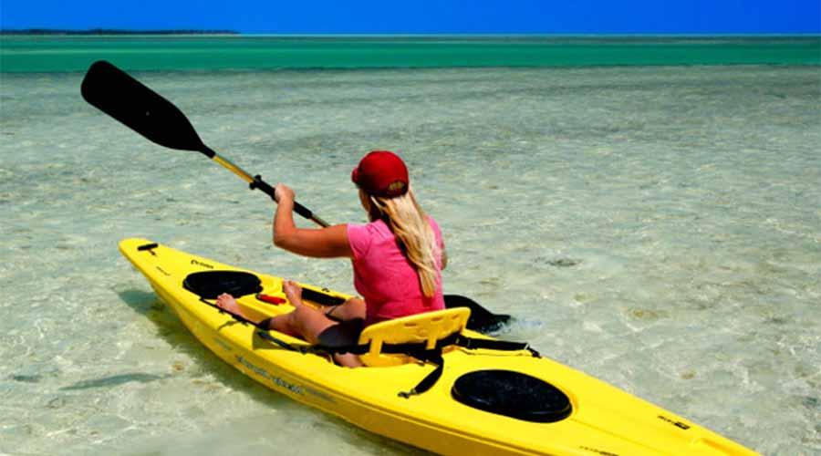 Koh Rong Samloem kayak - Những điều nên làm khi đến đảo kohrong sanloem