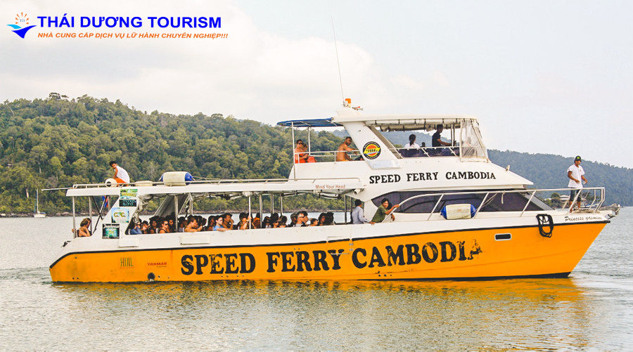 ve koh rong speed ferry - Tàu Speed Ferry đi đảo Kohrong Samloem