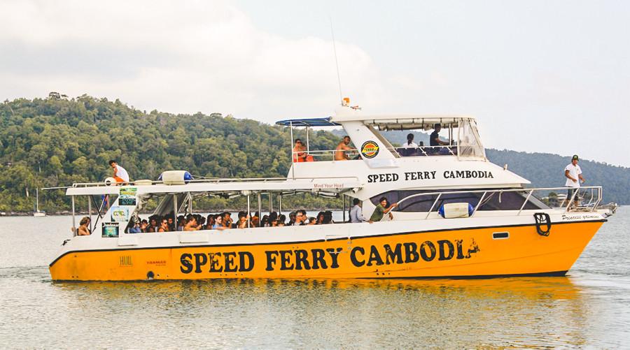 ve koh rong speed ferry - Hướng dẫn đi đảo Kohrong Campuchia