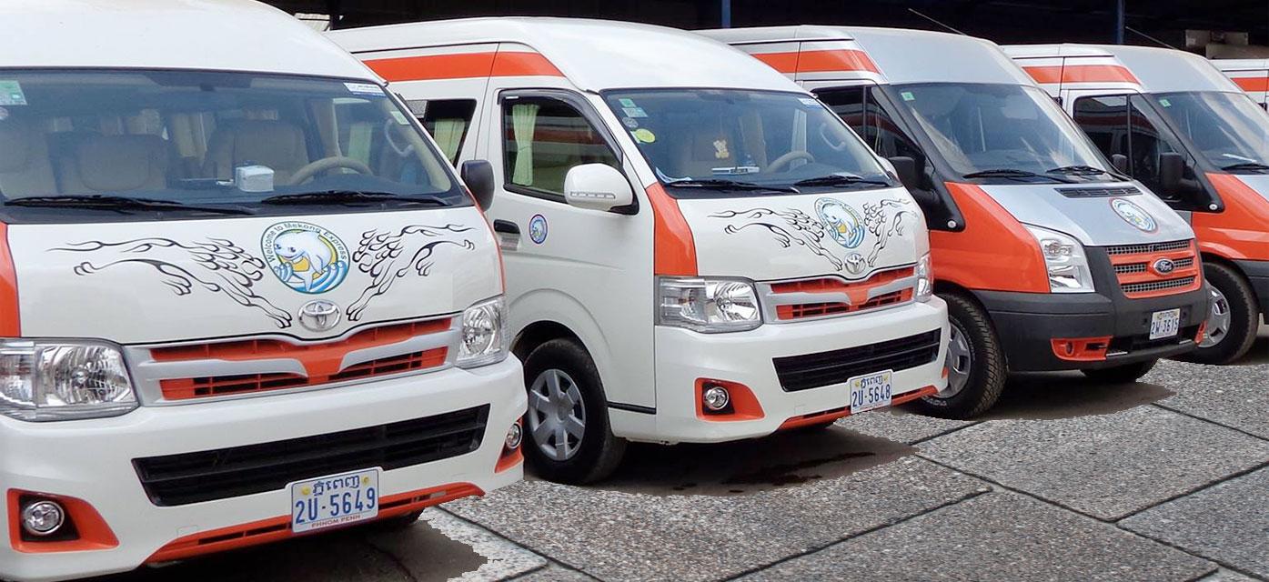 mekong express vip van - Kohrong tiểu maldives Campuchia