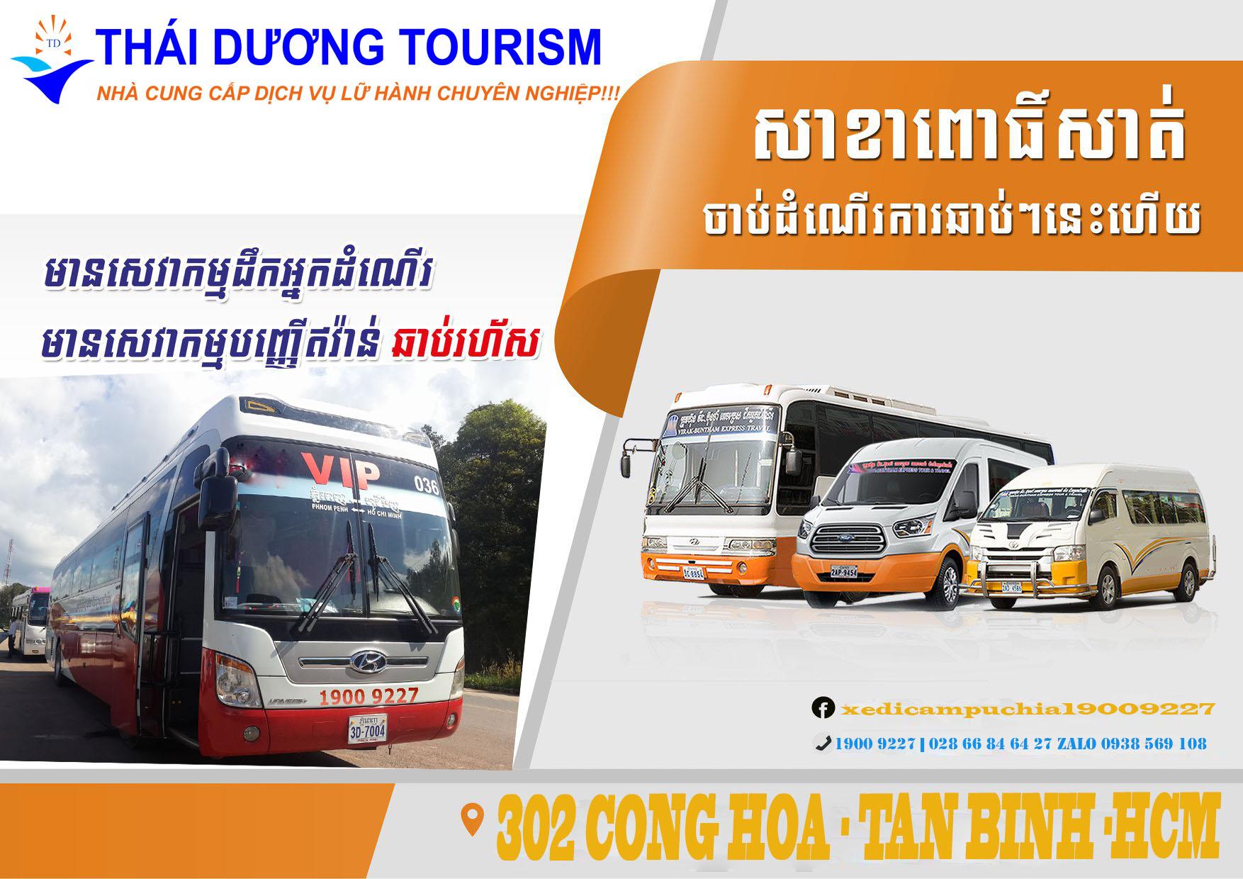 xe từ siem reap Sài gòn - Vé xe từ Sihanouk Ville về Sài Gòn