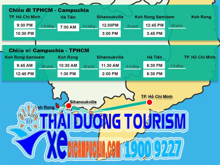 ban do bus den sihanoukville - Đi Campuchia bằng xe bus