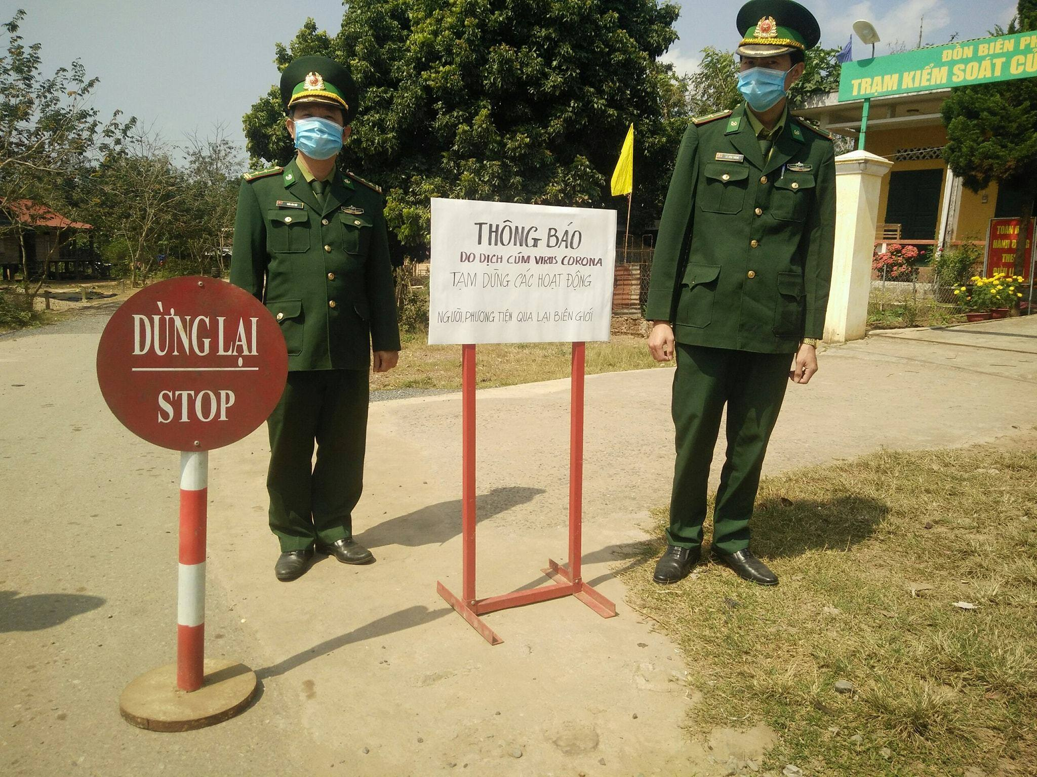 do ng cu a kha u pho ng di ch virus corona - Việt Nam tạm đóng cửa khẩu biên giới Mộc Bài với Campuchia